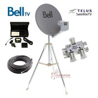 Satellite install and servicing