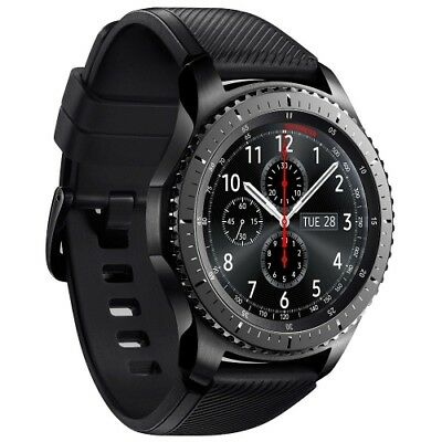 Samsung Gear S3 R760 Frontier grey Android Smartwatch Fitnesstracker