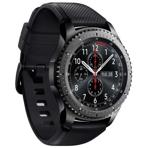 Samsung Gear S3 R760 Frontier grey Android Smartwatch Fitnesstracker Uhr NEU!