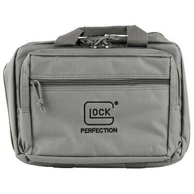 - Glock AP60301 OEM Grey Double Pistol/Handgun/Firearm Magazine/Ammo Range Bag