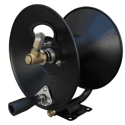 "General Pump D30002 100' X 3/8"" 4000 PSI High Pressure Washer Steel Hose Reel"