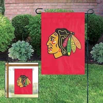 Chicago Blackhawks Embroidered Garden Window Flag