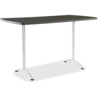 Iceberg Utility Table - Rectangle - 72 X 36 - Graphite Ice-69327 Ice69327