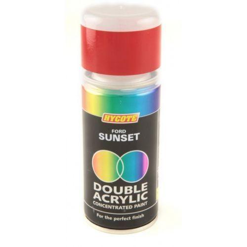 Hycote Ford Sunset 150ml Double Acrylic Spray Paint Aerosol - XDFD514
