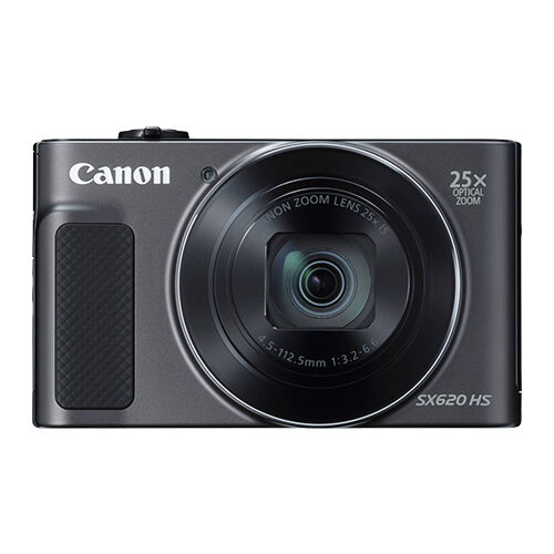 Canon PowerShot SX620 HS 20.2MP Digital Camera 25x Optical Zoom WiFi / NFC Black