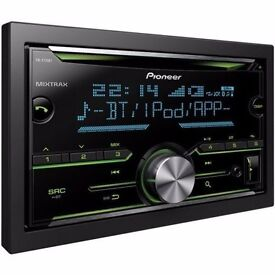 PIONEER DOUBLE DIN CD PLAYER/BLUETOOTH/USB/