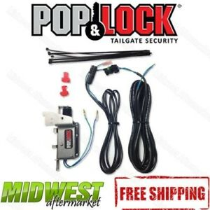 Pop & Lock Power Tailgate Lock Kit Fits 2007-2017 Toyota Tundra Tacoma