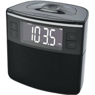 Sylvania SCR1986BT-AS Bluetooth Clock Radio with Auto-Set Dual Alarm