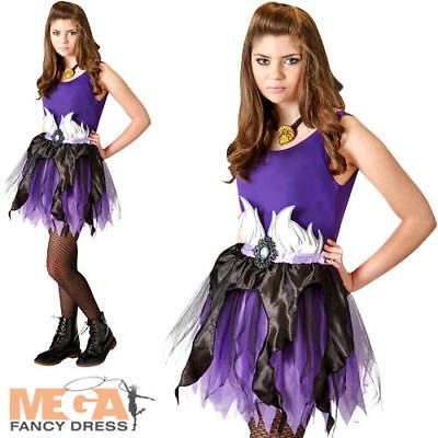 Ursula Tutu Set Ladies Fancy Dress Disney Villain Teens Costume Accessories New ()