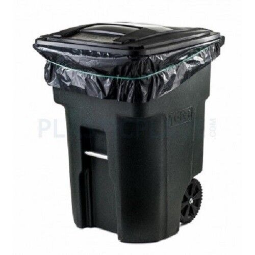 Plasticplace 95-96 Gallon Trash Bags 2 mil thick - 50 bags on rolls
