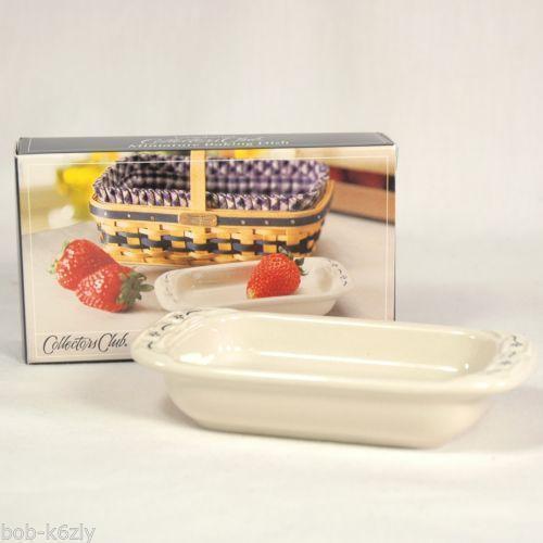 Longaberger Pottery Baking Dish Ebay