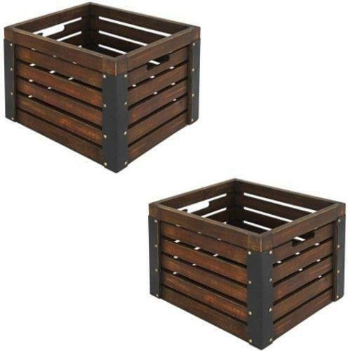 Wooden apple crates antiques ebay for Used apple crates