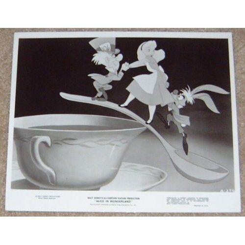 ALICE IN WONDERLAND  black and white print - DISNEY #11
