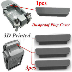 DJI Mavic Pro Battery Cover x 3 and Drone Cover x 1 Dustproof