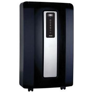 Haier Portable Air Conditioner - 13,500BTU - Black/Silver