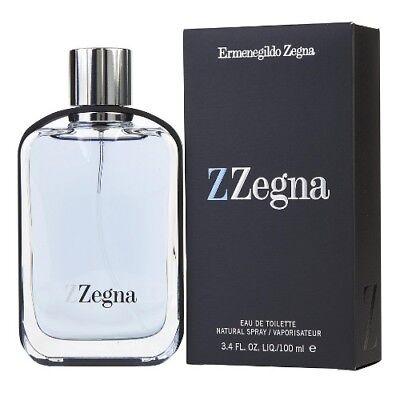 Z Zegna by Ermenegildo Zegna 3.4 oz EDT Cologne for Men New In (Zegna For Men)