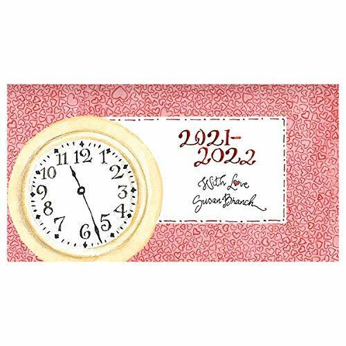 TF PUBLISHING 2021-2022 Artist Susan Branch 2-Year Small Monthly Pocket Calendar
