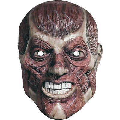 Horror Veins Halloween Celebrity Fright Night Card Mask - Masks Are Pre-Cut](Halloween Celebrity Masks)