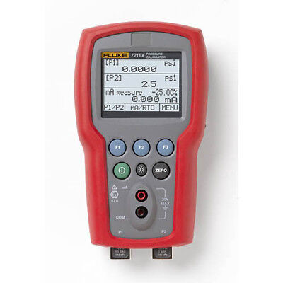 Fluke 721ex-1630 Intrinsically Safe Dual Pressure Calibrator 3000psig