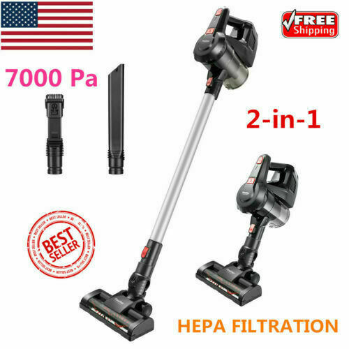 2-in-1 7Kpa Cordless Stick Vacuum Cleaner Handheld VStick Va