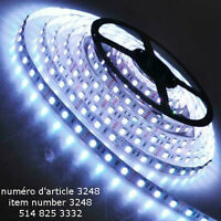 WHITE 5M 5050 SMD LED 300 LEDs Flexible Waterproof Light Strip R