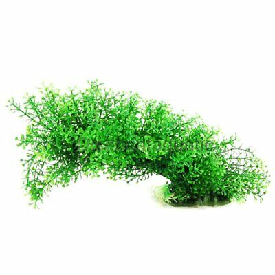 Aquarium Ornament Plastic Plants 21020 Shapeable Decoration Green