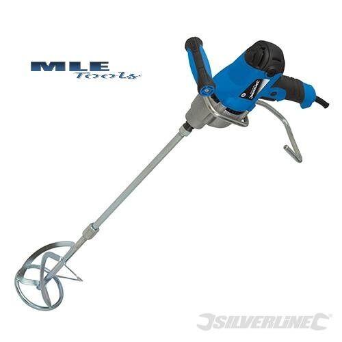 Silverline DIY 850W Plaster Mixer 120mm mains 240V plastering mixing 263965