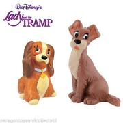 Lady and The Tramp Figures