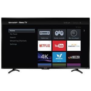 "SHARP 50"" LED 4K HDR ROKU SMART UHDTV *NEW IN BOX*"