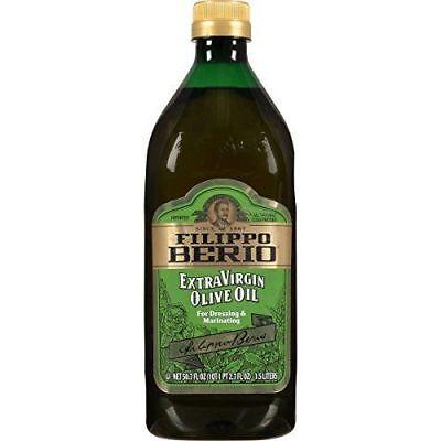 (Filippo Berio Cold-Pressed Extra Virgin Olive Oil, 50.7 Fl Oz Case of 6 bottles)