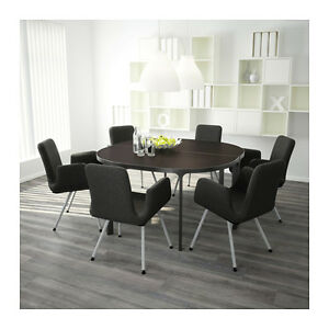 Black Ikea Bekant Conference table or 2 desks