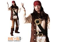 Jack sparrow adults costume