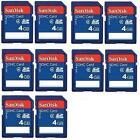 4GB SD Card Class 10