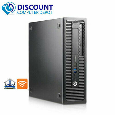 Usado, HP Desktop Computer Tower Core i3 3.4GHz 8GB 500GB HD DVD Wifi Windows 10 PC segunda mano  Embacar hacia Mexico