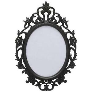 black baroque frame