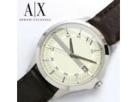 Brand New Sealed Armani Exchange AX2100 Men's Watch With Argos Receipt & Warranty