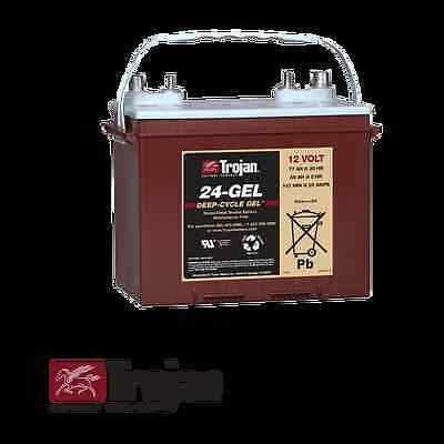 - 24-GEL Trojan T24 12v 12 volt 77AH Golf Cart 24-Gel deep cycle battery