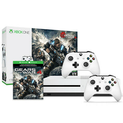 Microsoft Xbox One S Gears of War 4 Bundle (1TB) + Xbox Wireless Controller