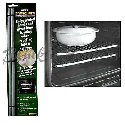 HEAT RESISTANT SHELF GUARD SILICONE OVEN COOKER STOP HAND ARM BURN PROTECTOR 06C