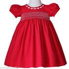 Christmas 100% Cotton 4T Size Dresses (Newborn - 5T) for Girls