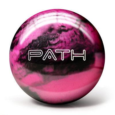 Pyramid Path Pink Black Bowling Ball