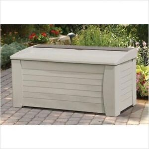 Dock Storage Box Bench Patio Garden Boat Outdoor Furniture Pool Garage