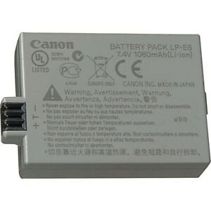 Canon LP-E5 Camera Battery Pack ★★★