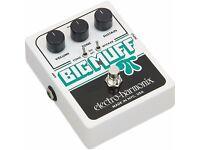 Electro-Harmonix Big Muff Pi with Tone Wicker Distortion Pedal