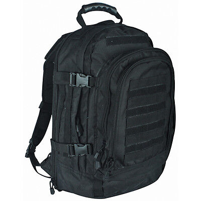 0e7aed79fbe NEW - Military Tactical Duty Modular MOLLE Backpack - SWAT BLACK