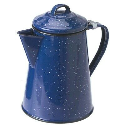 GSI Outdoors Enamelware Coffee Pot - Blue