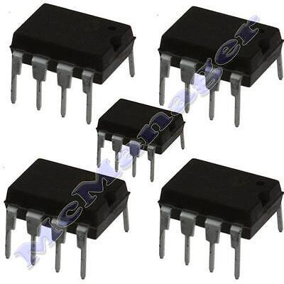 5x TL071 DIP-8 IC Low Noise J-FET Input Op. Amp.