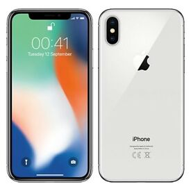 Brand new iPhone X unlocked 256GB