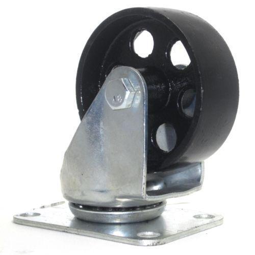 vintage iron caster wheels heavy duty steel casters ebay