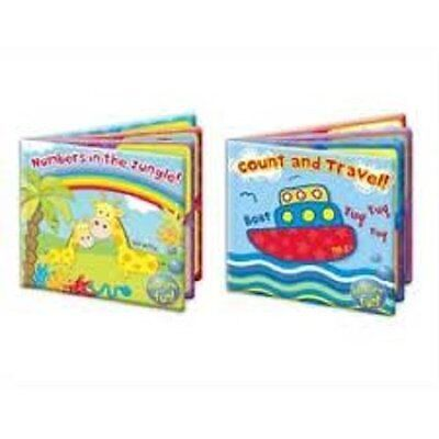 """First Steps"" Baby Waterproof Floating Bath Book Educational & Fun Bath Toy"
